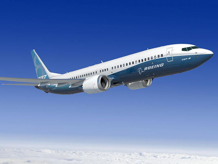 самолёт Boeing 737 max