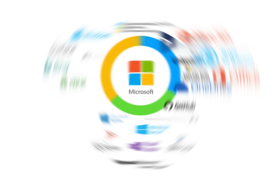 На чём зарабатывает Microsoft