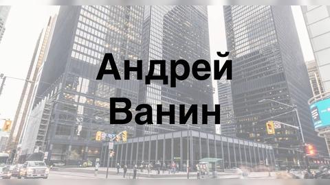 Андрей Ванин: биография и деятельность на фондовом рынке